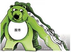 股票漫画 熊流