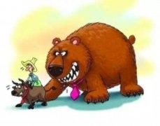 股票漫画 结构性小牛市也抵不住熊市趋势