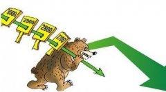 股票漫画 熊市啊,从3000点一路滑下来