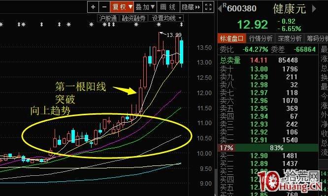 龙头股打板技术系统课程_第14讲:趋势股的超短线买入技巧(图解),拾荒网