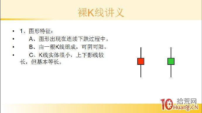 裸K线技术系统课程.35:单根看涨K线之底部螺旋桨(图解),拾荒网