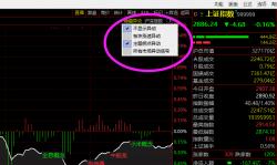 """通达信沪深指数分时图""""市场异动""""是什么,怎么用(图解)"""