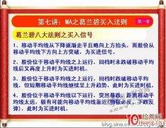 《私募操盘手》培训第七讲:MA之葛兰碧买入法则(图解)