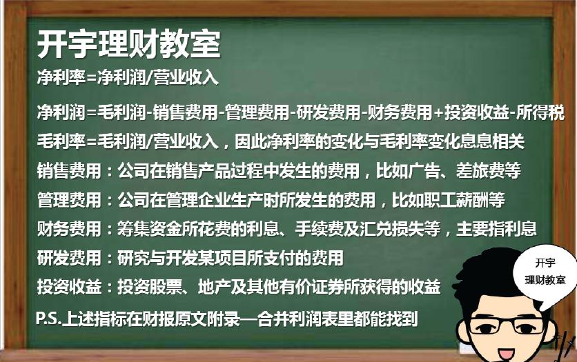 李开宇:如何看高净利率型公司财报(图解)